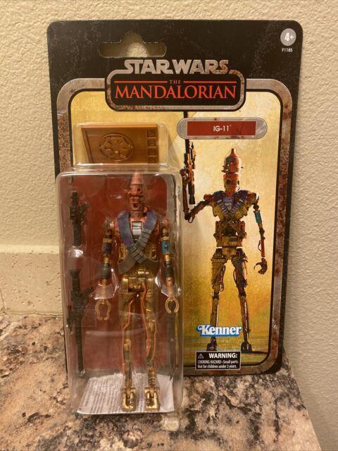 NEW Star Wars Black Series Mandalorian Credit Collection IG-11