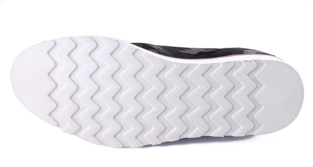 WeSc Lawrence Mid Top in Walnut Camo Camo Camo Pelle Mid Top Shoes NIB 669df8