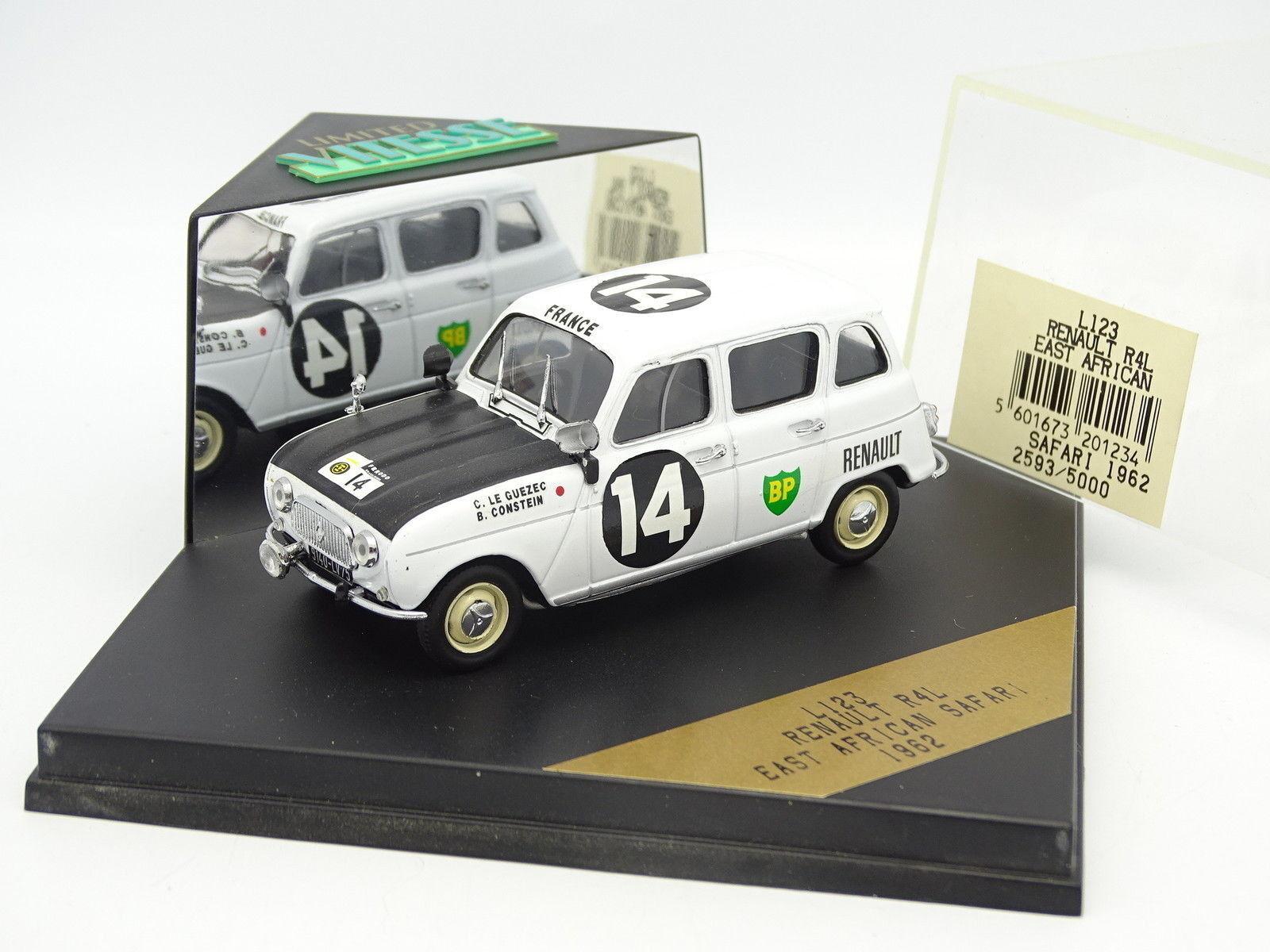 Velocidad 1 43 - Renault 4 4L East African Safari 1962