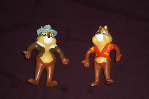 vintage just toys 4 5 chip dale rescue rangers bendy action