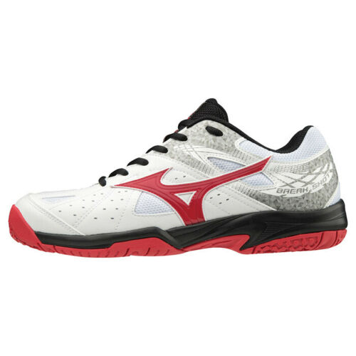 Mizuno BREAK SHOT 2 OC Tennis Shoes White Unisex Racket Racquet NWT 61GB194162