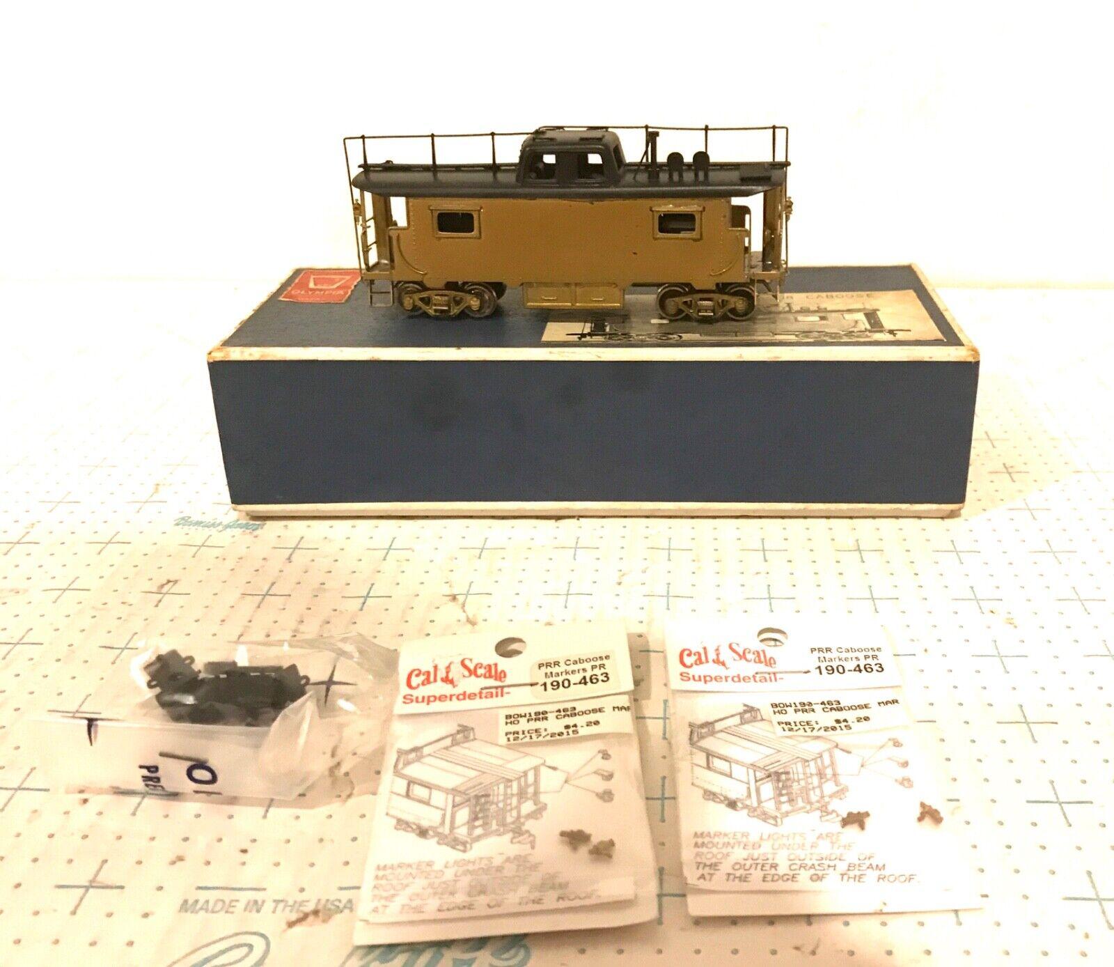 GEM modellololi scala HO FC101 Pennsylvania N8 OTTONE Caboose