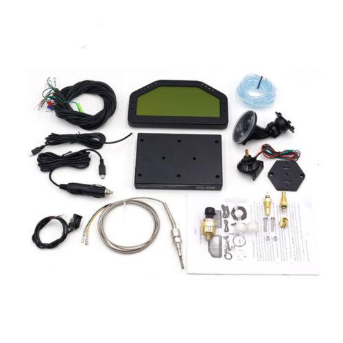 Car Dashboard LCD Screen Dash Race Display Bluetooth Full Sensor Rally Gauge Kit