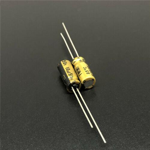 100pcs 10uF 50V Nichicon FW High Grade HiFi Audio Capacitor 50V10uF 5x11mm