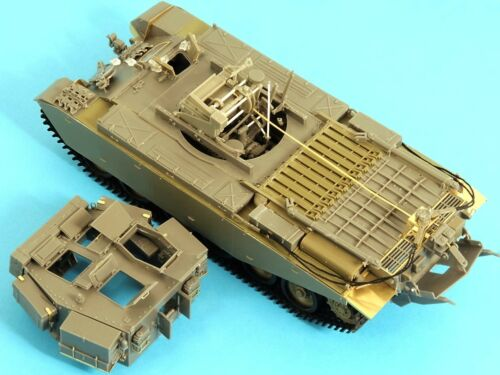 135th Accurate Armour British Centurion ARV Mk1 Conversion with interior