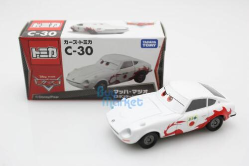 Tomica Takara Tomy película de Disney Cars 2 Motores C-30 Mach Matsuo Diecast Auto De Juguete