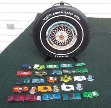 Vintage 1967-70 Hot Wheels Redline 23 Cars, 5 Custom, 4 Buttons & Case