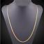 18k-Goldkette-50cm-Pankerkette-4MM-vergoldet-Geschenk-Damen-Herren-Halskette-GK9 Indexbild 4