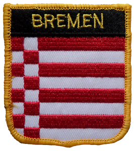 Bremen Germany Shield Embroidered Patch