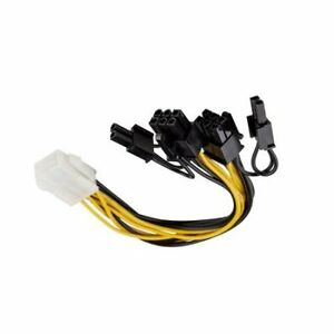 PCI-Express-6-Pin-to-2x-6-2-6-8-Pin-Splitter-PC-Video-Card-Power-Supply-Y-Cable