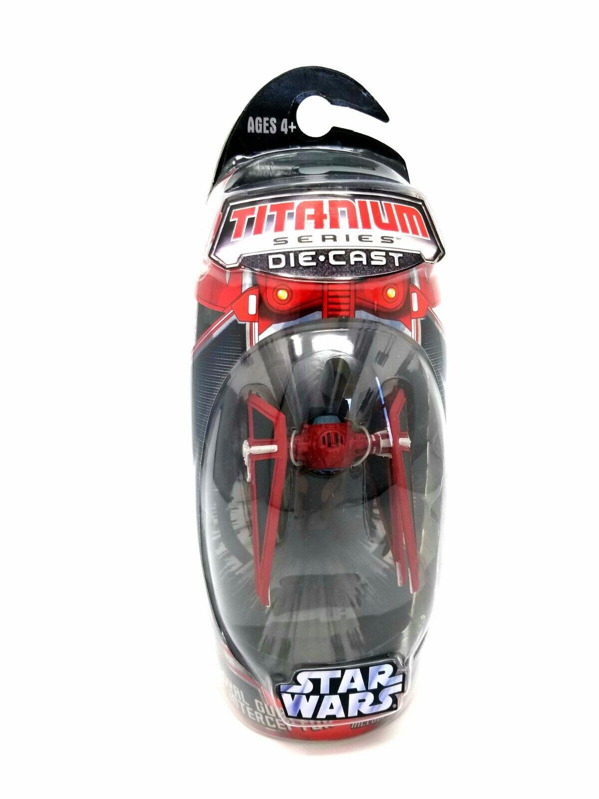 Star Wars Royal Guard Tie Interceptor Titanium Series Die-Cast MIB