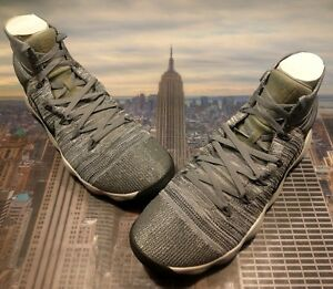 cb7267ff4213 Nike Hyperdunk 2017 Flyknit Cool Grey Anthracite Mens Size 18 917726 ...