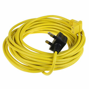 Cable For Victor V9 Vacuum Cleaner hoover 12 Metre Length Mains Power Cable