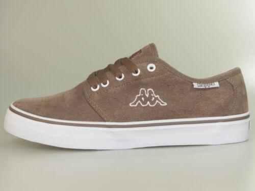 Marron Chaussures Kappa Jumbo 241537 Nouveau Bas 5210 Cuir Blanc wzwqaOX