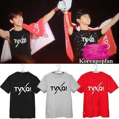 TVXQ TOHOSHINKI CHANGMIN YUNHO COTTON T-shirt Kpop New