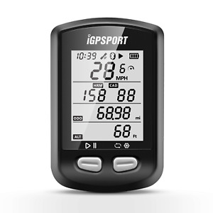 GPS Smart Bike Cycling Computer iGPSPORT Igs10 Bluetooth ANT LCD Display UK