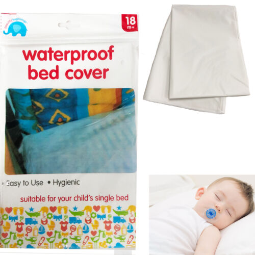 Waterproof Bed Cover Baby Child Cot Single Bed Cot Hygienic Sheet Wetting Proof