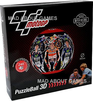 Official MOTO GP PUZZLE BALL 3D 240 pcs Valentino Rossi, Lorenzo, Marquez