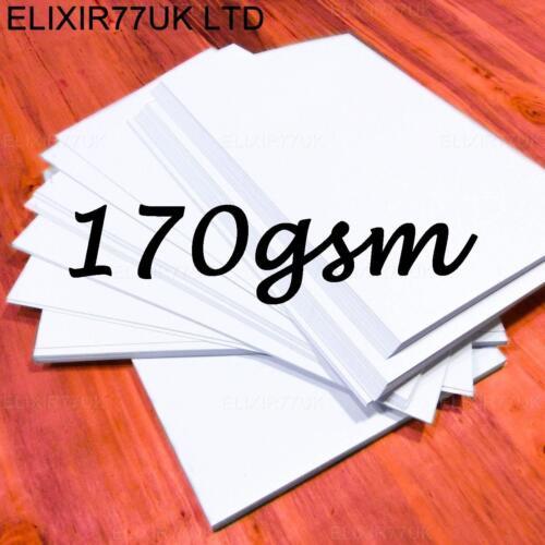 A2 A3 A4 A5 A6 Bianco Card Making STOCK fogli bianchi artigianale decoupage 250gsm 300gsm