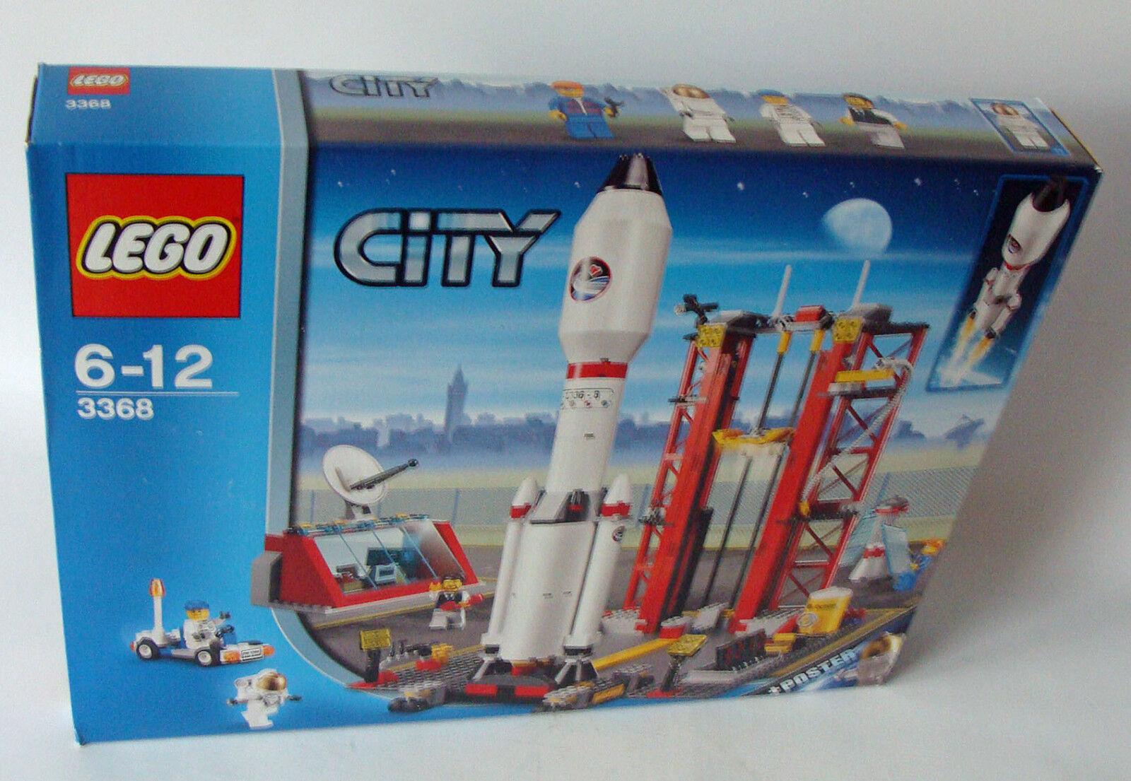 LEGO ® City 3368-missili Station 494 parti 5-12 ANNI-NUOVO