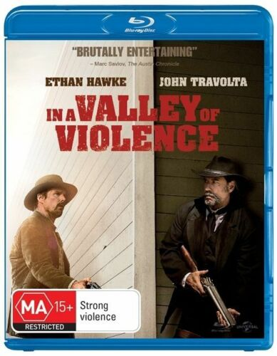 1 of 1 - In A Valley Of Violence (Blu-ray, 2017)