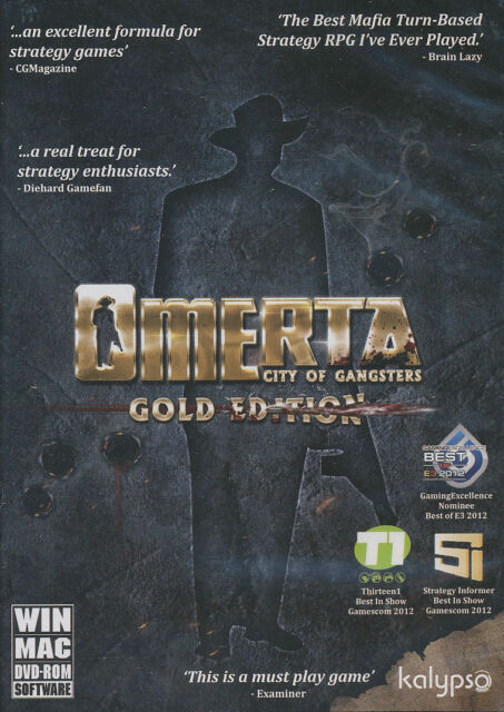 Omerta: City of Gangsters -- Gold Edition (PC, 2014)