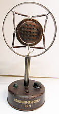 MICROPHONE de table -  DRALOWID REPORTER DR 1 - 1932 / 36 - RARE & COLLECTOR