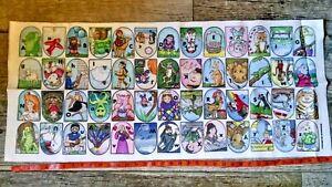Story Time Felts 16 X 37 Story Teller Animals Stories Alphabet Board Set Ebay