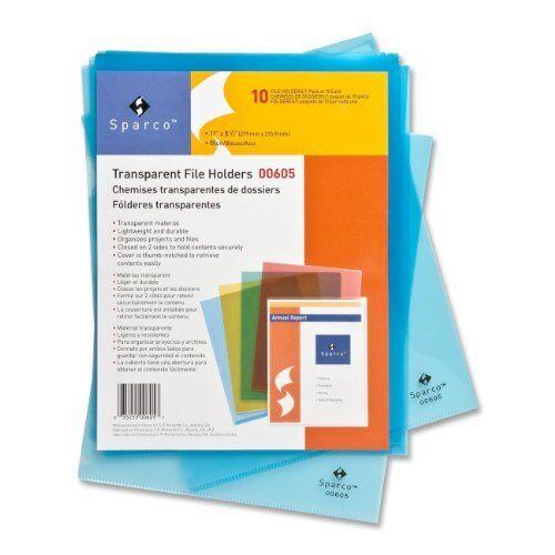 Sparco Transparent File Holder SPR00606
