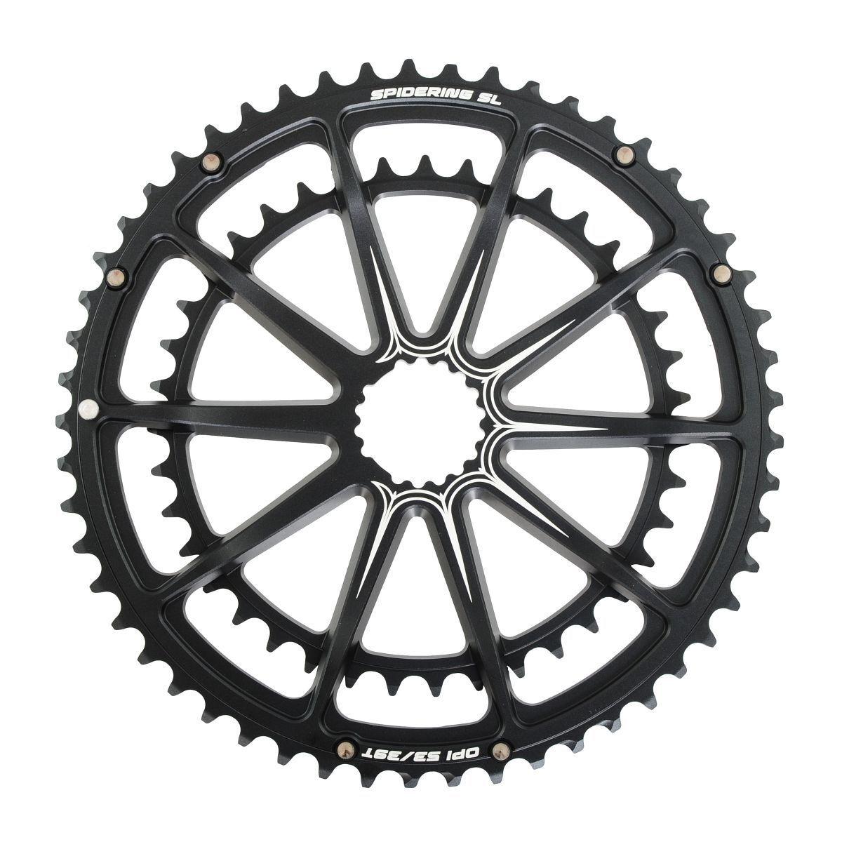 Cannondale OPI Spidering Fahrrad Kettenblatt 10 Arm 53 53 53 39 Zähne schwarz   eine große Vielfalt  38cbe3