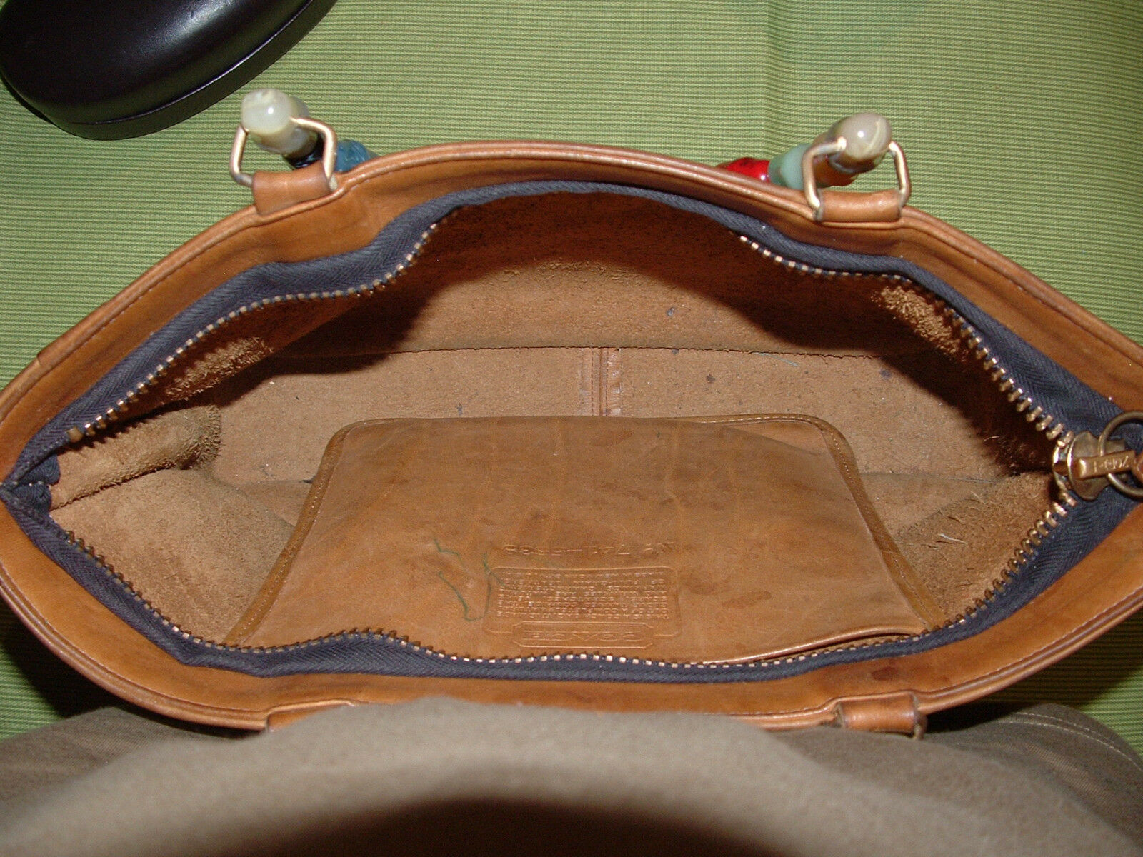 Custom vintage COACH Bonnie Cashin satchel VGC **… - image 7