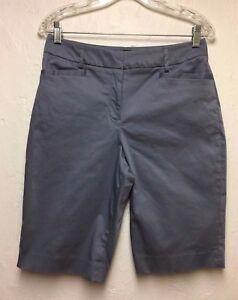 Pendleton-Women-039-s-Cotton-2-Spandex-Blend-Casual-Shorts-Blues-Sz-6-Cute
