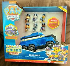 Paw Patrol 6052954 Total Team Rescues Chase's Team Police Cruiser