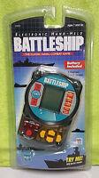 1999 Hasbro Milton Bradley Battleship Electronic Handheld Game Smoked Black