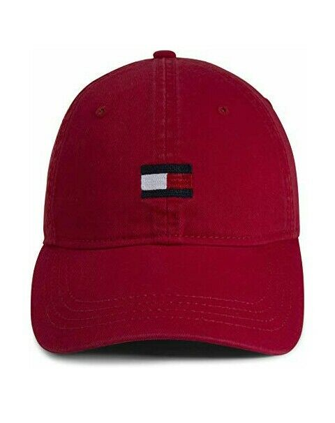2c72e445a71 Tommy Hilfiger Men s Ardin Dad Baseball Cap Core Red One Size for sale  online