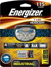 Energizer Pro 7 LED Industrial Head Lamp 115 Lumens Water Resistant Head Light