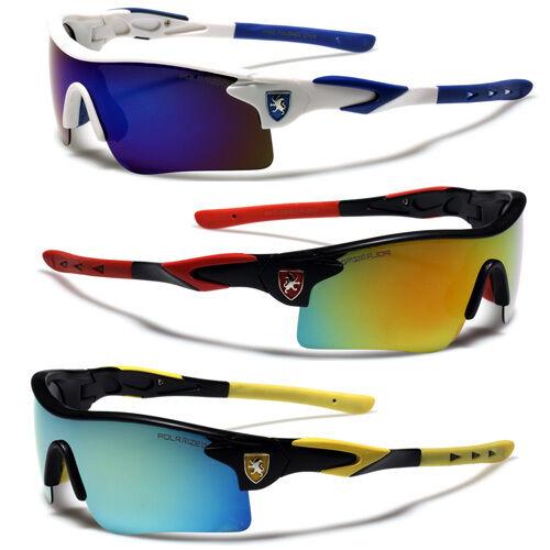 Polarized Extreme Sports Men's Mirrored Racing Cycling Fishing Ski Sunglasses