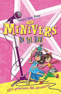 1 of 1 - Minivers on the Run by Natalie Jane Prior (Paperback, 2010)  New Book