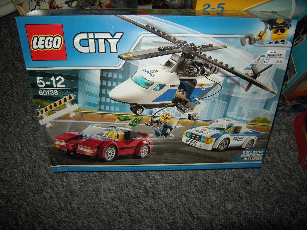 Lego City Rasante Rasante Rasante Verfolgungsjagd 5-12 Jahre Nr. 60138 OVP 818359