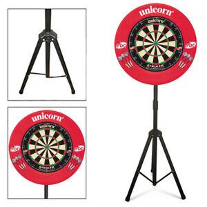 Unicorn-Striker-Dartboard-amp-Surround-Darts-Set-with-Darts-Caddy-Dartboard-Stand