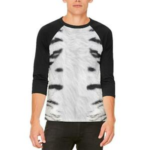 T Sibérie De Blanc Raglan Tigre Homme Costume shirt m80wnvN