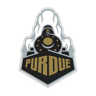 Single 1 Purdue Boilermakers Cornhole Wrap Board Decal FOOTBALL