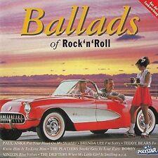 Ballads of Rock 'n' Roll (Polystar) Paul Anka, Teddy Bears, Ritchie Valen.. [CD]