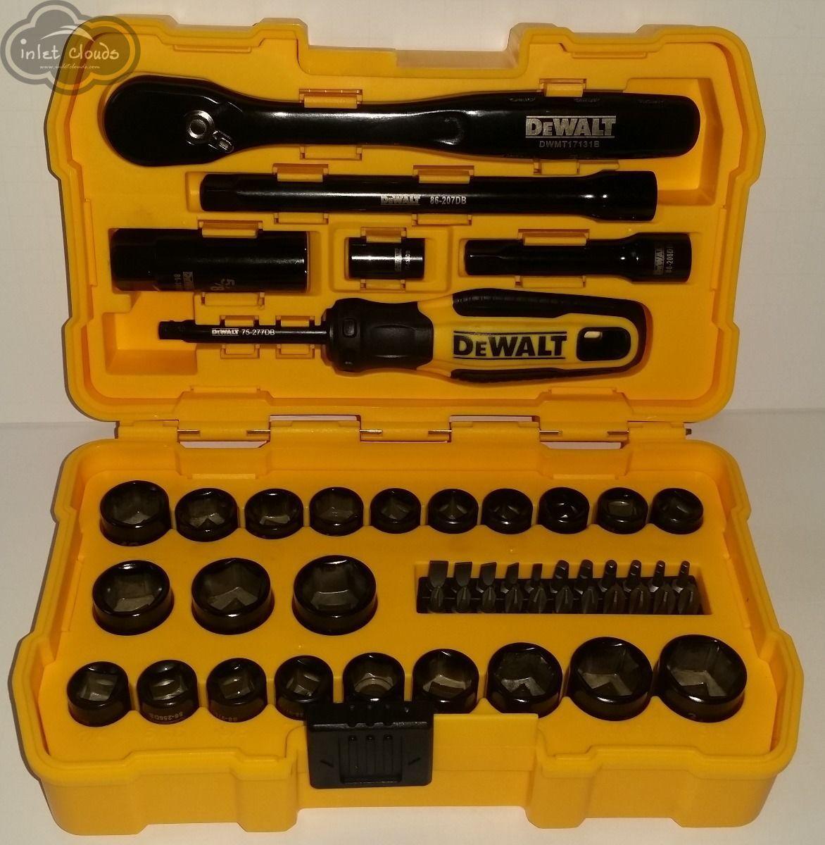 NEW DeWALT DWMT81611 50 Piece Mechanics tool set