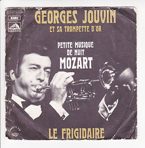 Georges-JOUVIN-Disk-45T-7-034-EP-SMALL-MUSIC-NIGHT-VOIX-MASTER-16102-RARE