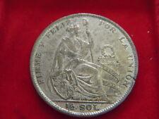 Moneda de 1926 Medio Sol De Perú De Mi Colección C91