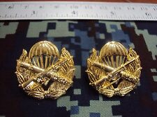 Royal Thai Air Force Security Force Command COLLAR PINS BADGE สังกัด ทอ.