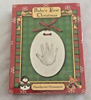 California 5x7 Handprint Ornament Figurine Craft Kit - Sealed