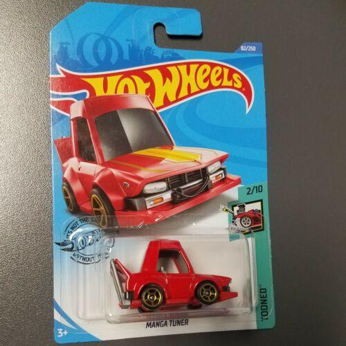 2020 Hot Wheels Case E ~ BOX SHIP FREE RED Manga Tuner #82