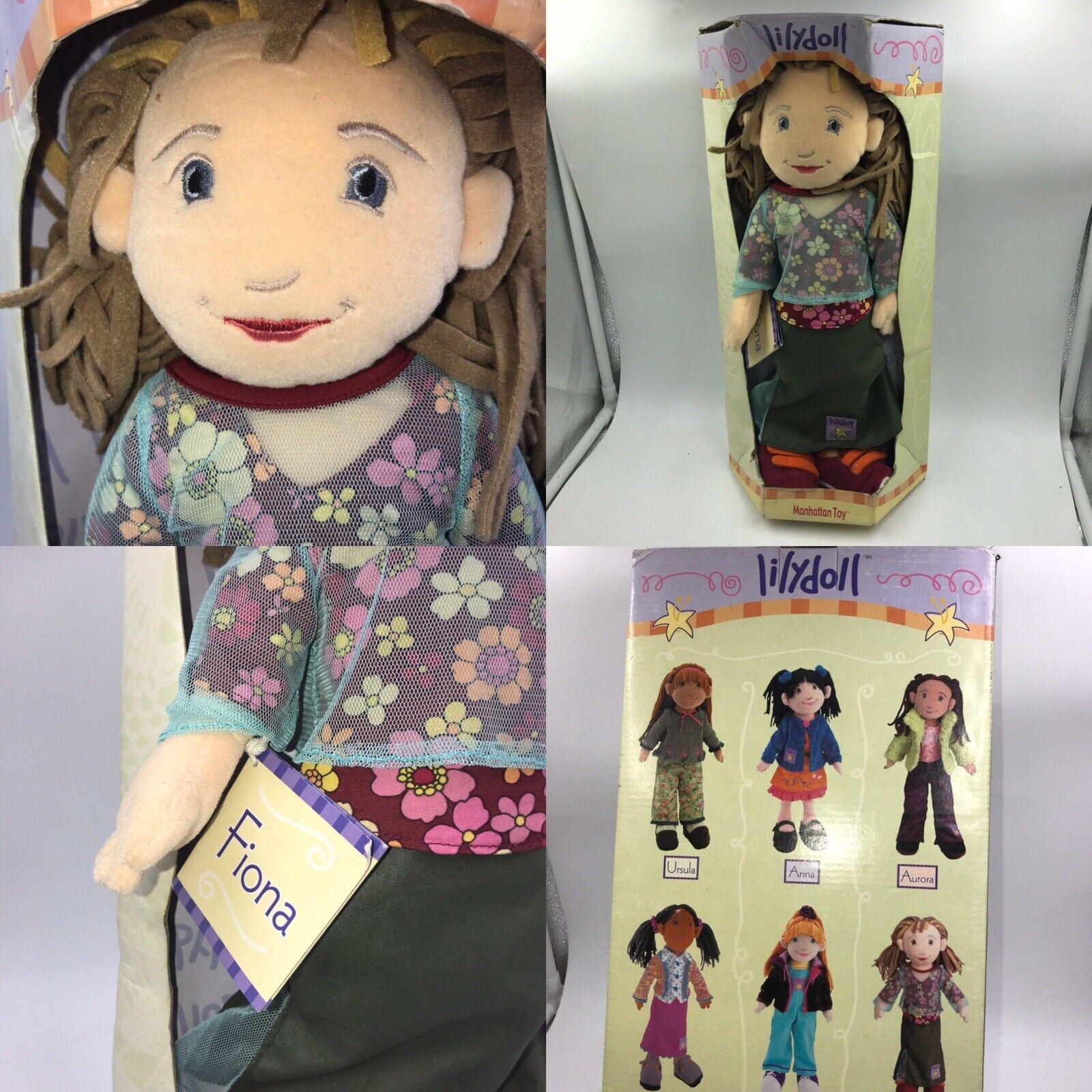 Ritirato uomoHATTAN giocattolo lilybambola Bambola di  pezza Fiona 18  Bambola 2001 NUOVO  best-seller